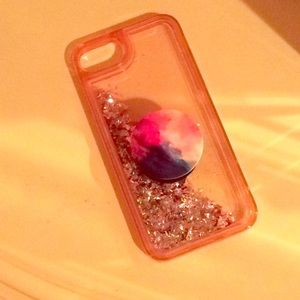 Phone case + pop socket